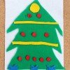 Felt Christmas Tree Number Match Up