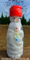 Fine Motor Skills Activity for Kids build a snowman