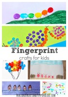 Fingerprint Crafts for Kids