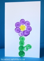 Flower Card for Mother's Day