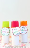 Free You Make Me Silly Valentine Tag