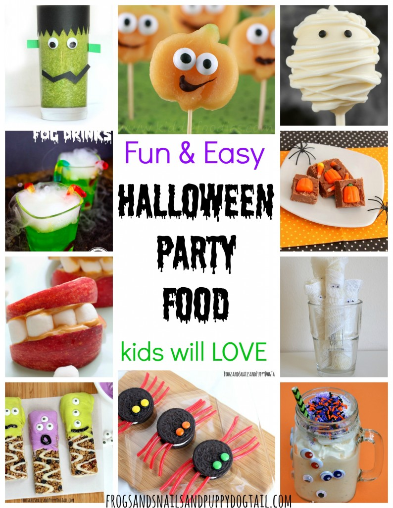 fun and easy halloween party food - fspdt
