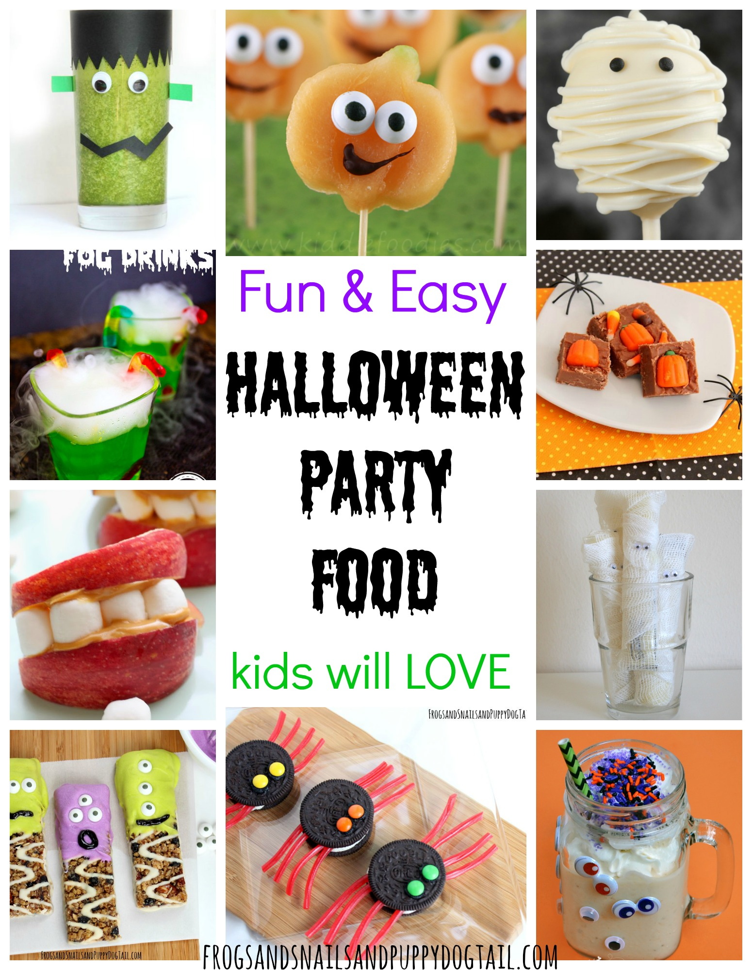 Fun and easy halloween party food fspdt for Fun kid food crafts