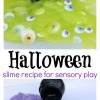 Halloween Slime Recipe