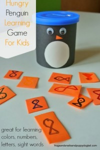 Hungry Penguin Learning Game For Kids
