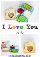 I Love You Bento Lunch Idea for Kids