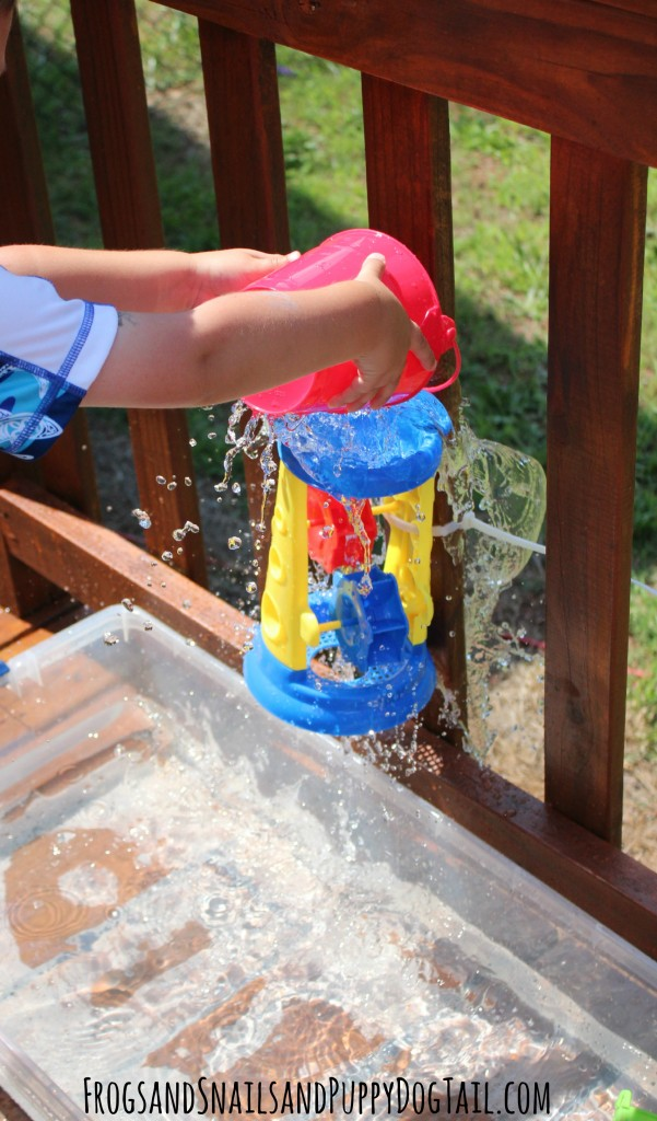 water wall for kids