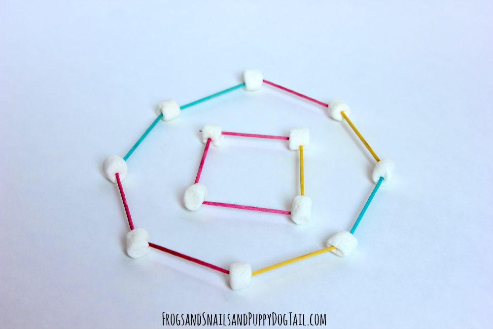 marshmallow shapes