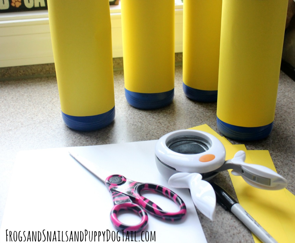 how to make a minion bowling set