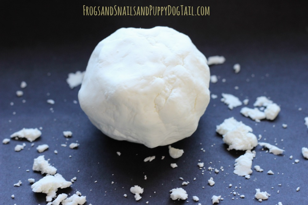 vitamin e snow dough recipe