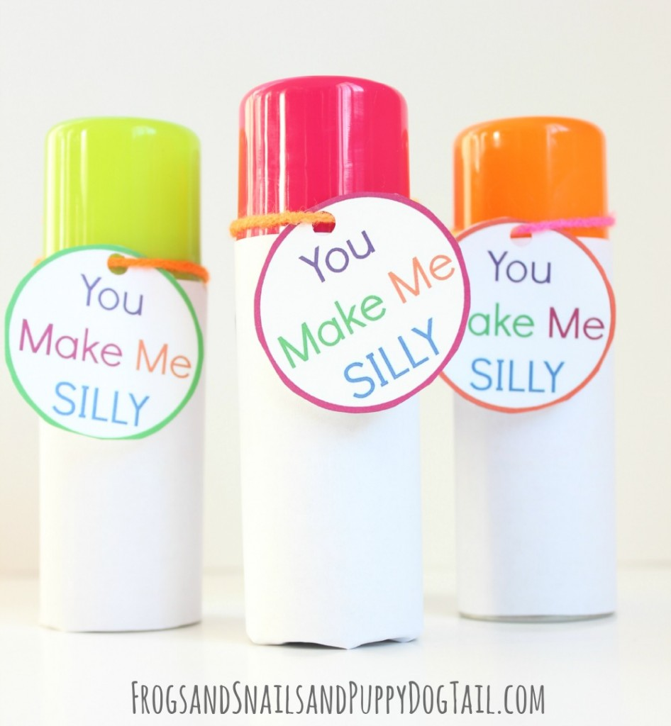 You MAke ME Silly Valentines for kids