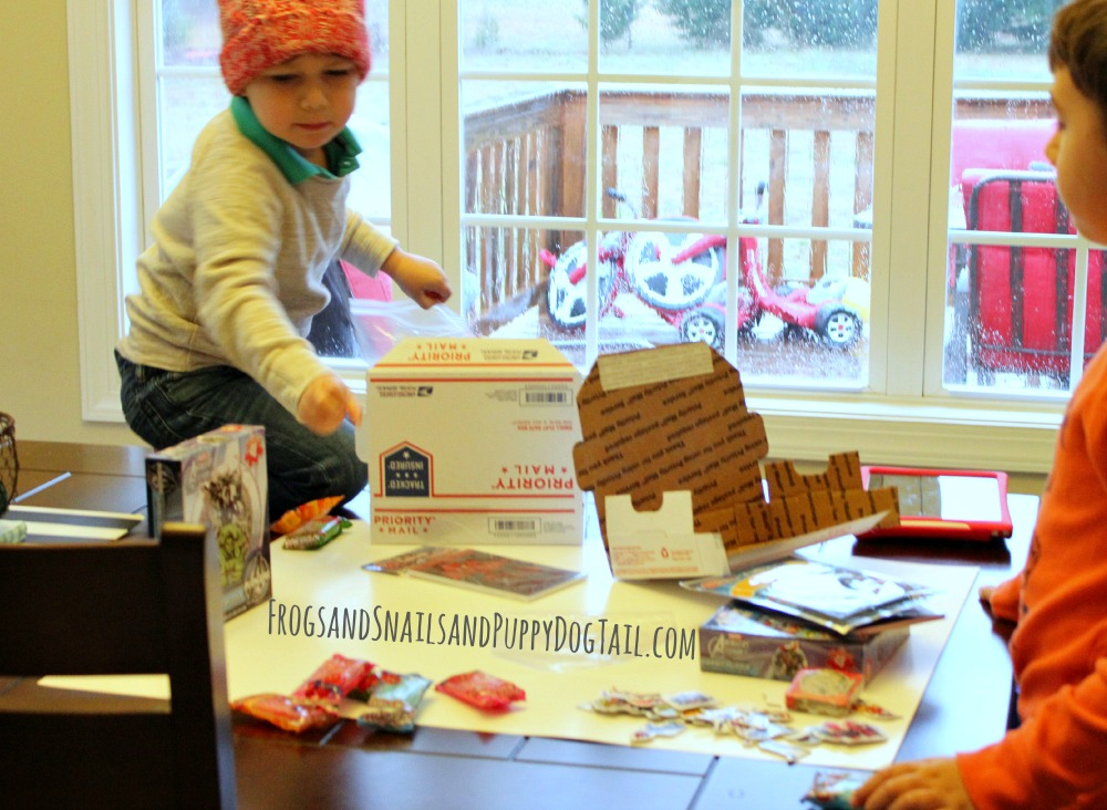 send a care package to a friend as a random act of kindness