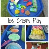 Ice Cream Sensory and Pretend Play for Kids