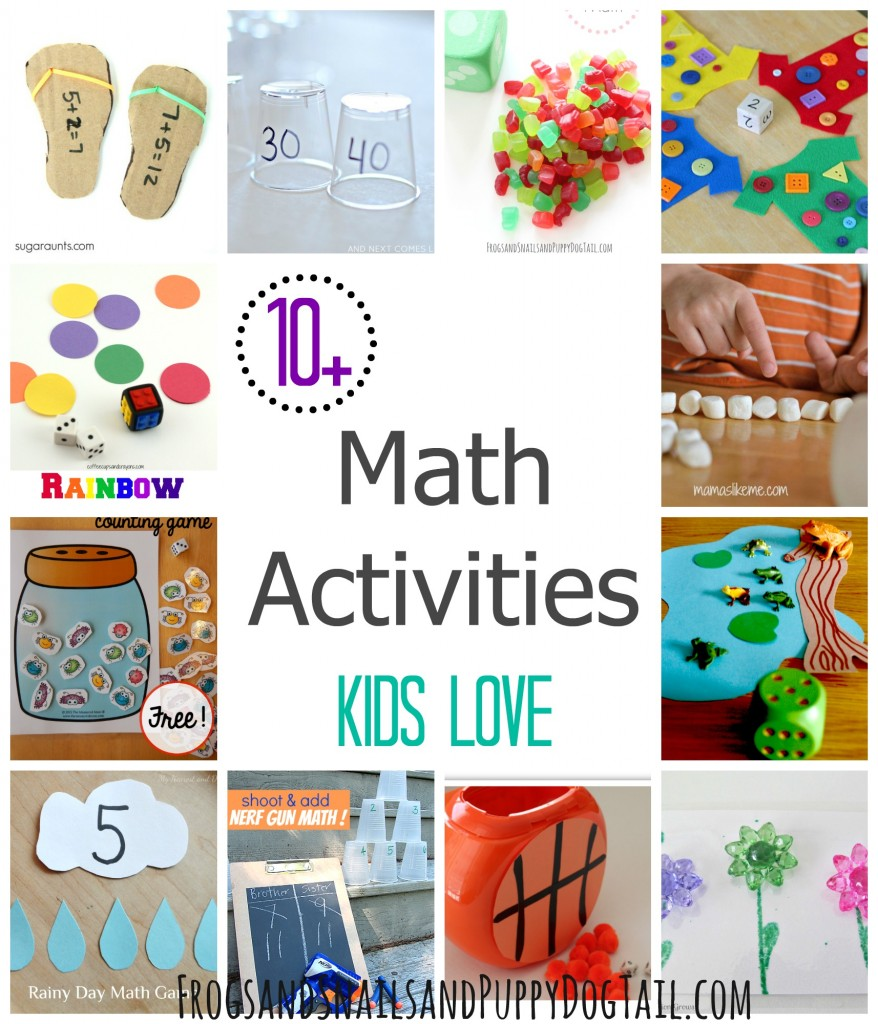 Math Activities Kids Love Fspdt