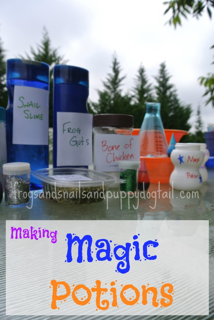 magic potion sensory play