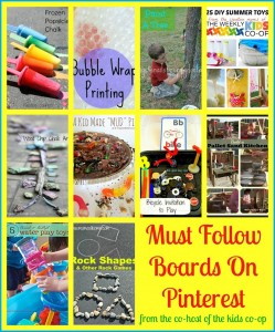 Must Follow Boards On Pinterest From The Co-Host Of The Kids Co-op