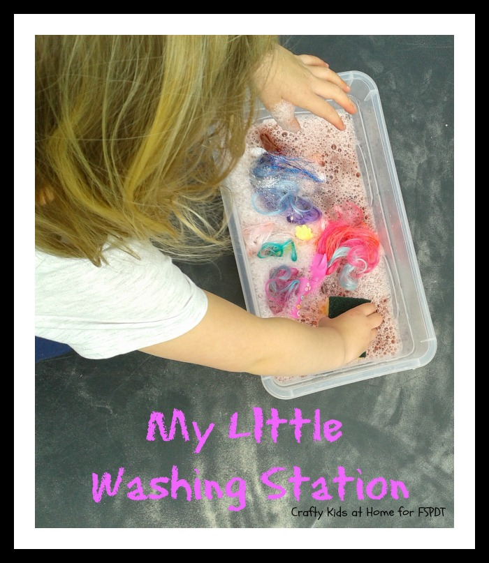 My Little Washing Station water play for kids