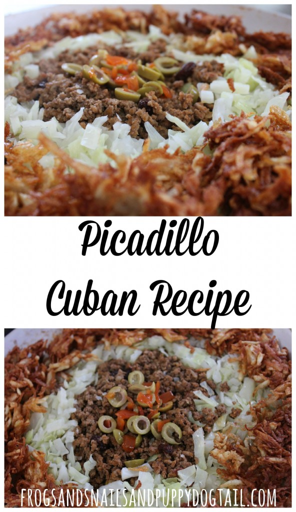 Picadillo Cuban Recipe