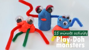 Play-Doh monsters #magicofplay
