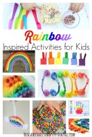 Rainbow Inspired Activities for Kids