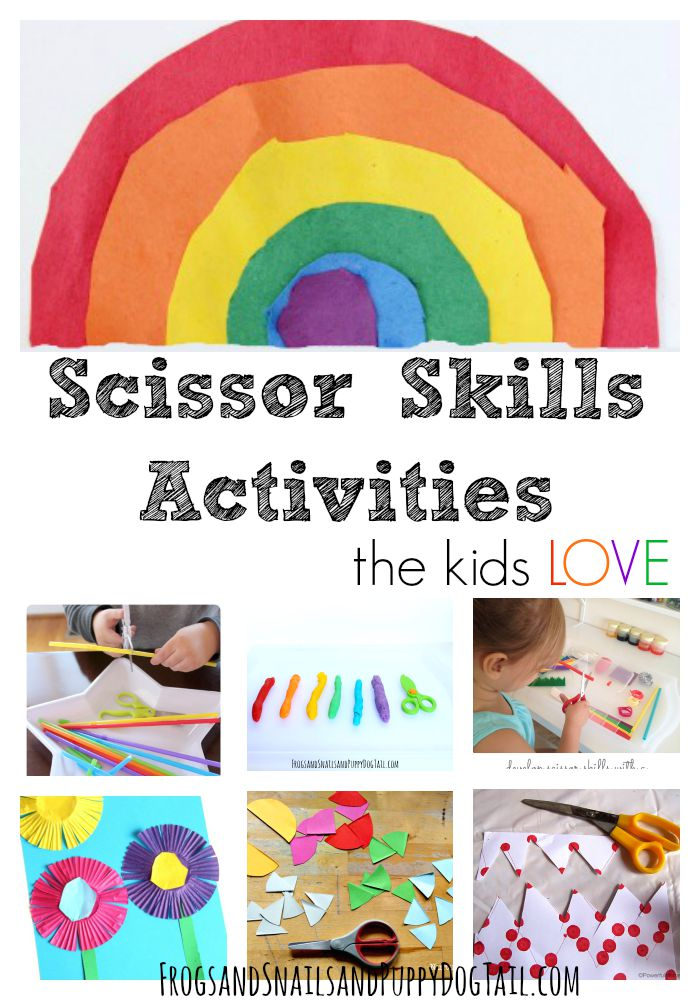 Scissor Skills Activities Kids Love