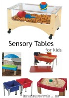 Sensory Tables for Kids