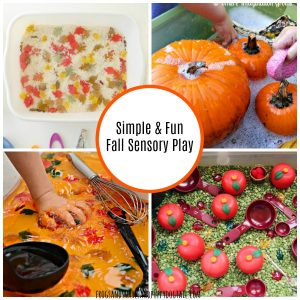 Simple and Fun Fall Sensory Play