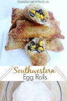 southwestern egg roll recipe