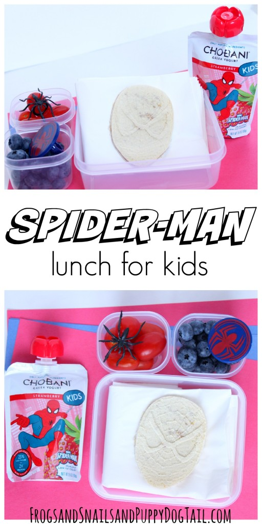 spider-man lunch for kids