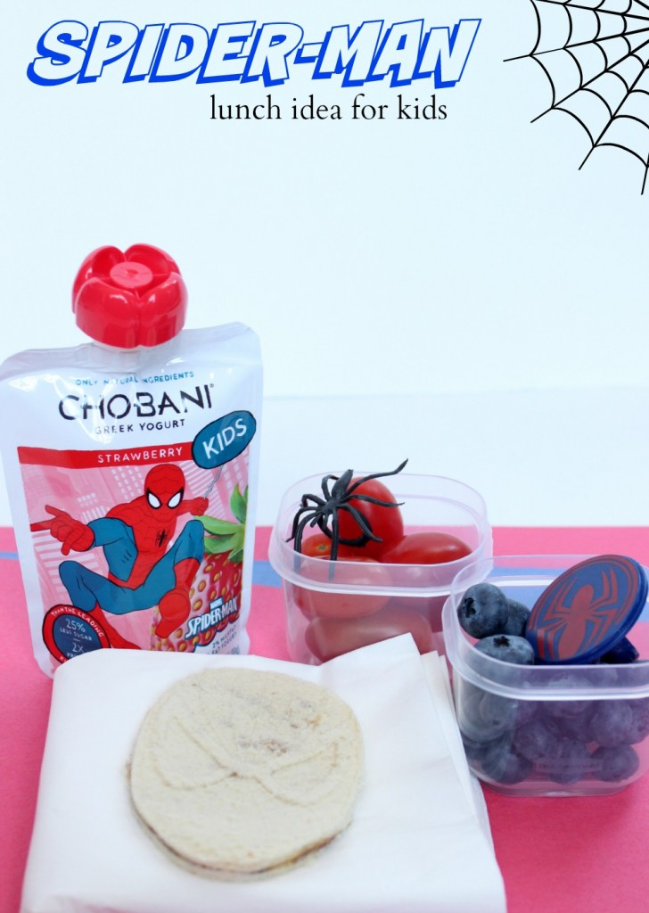 spider-man lunch idea for kids