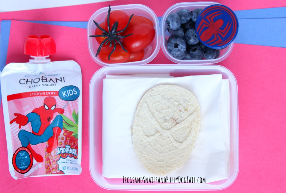spider-man lunch idea