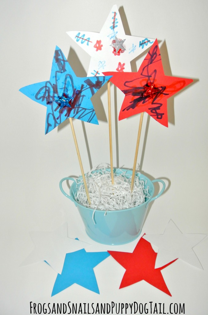 Patriotic Star Center Piece