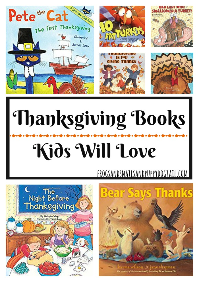 Thanksgiving Books Kids Will Love