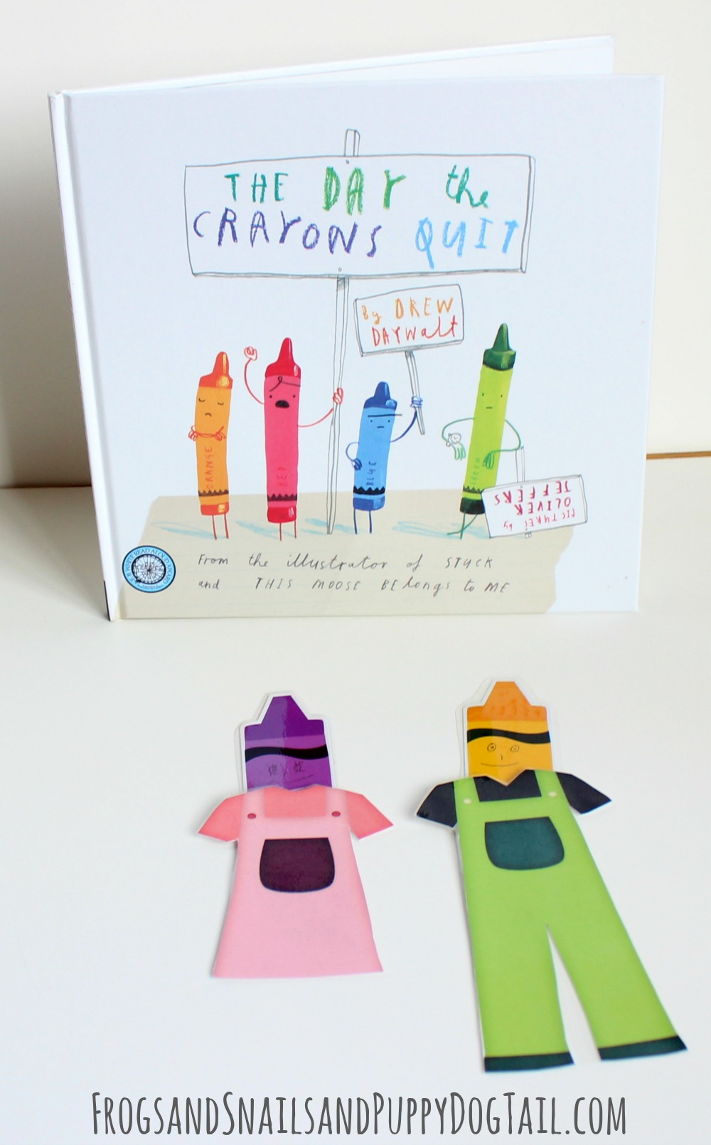 Paper Doll Crayons