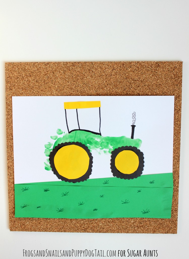 Tractor-Footprint-Art