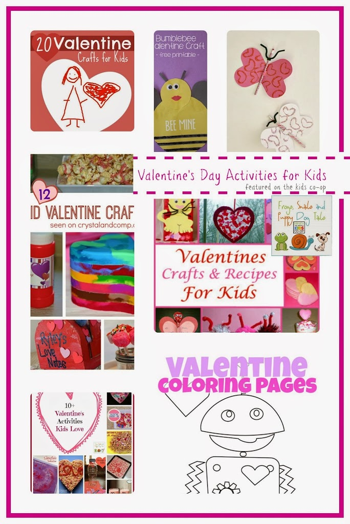Valentine's Day Activities for Kids {kid co-op 1-16} by FSPDT