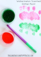 Watermelon Scented Glitter Paint