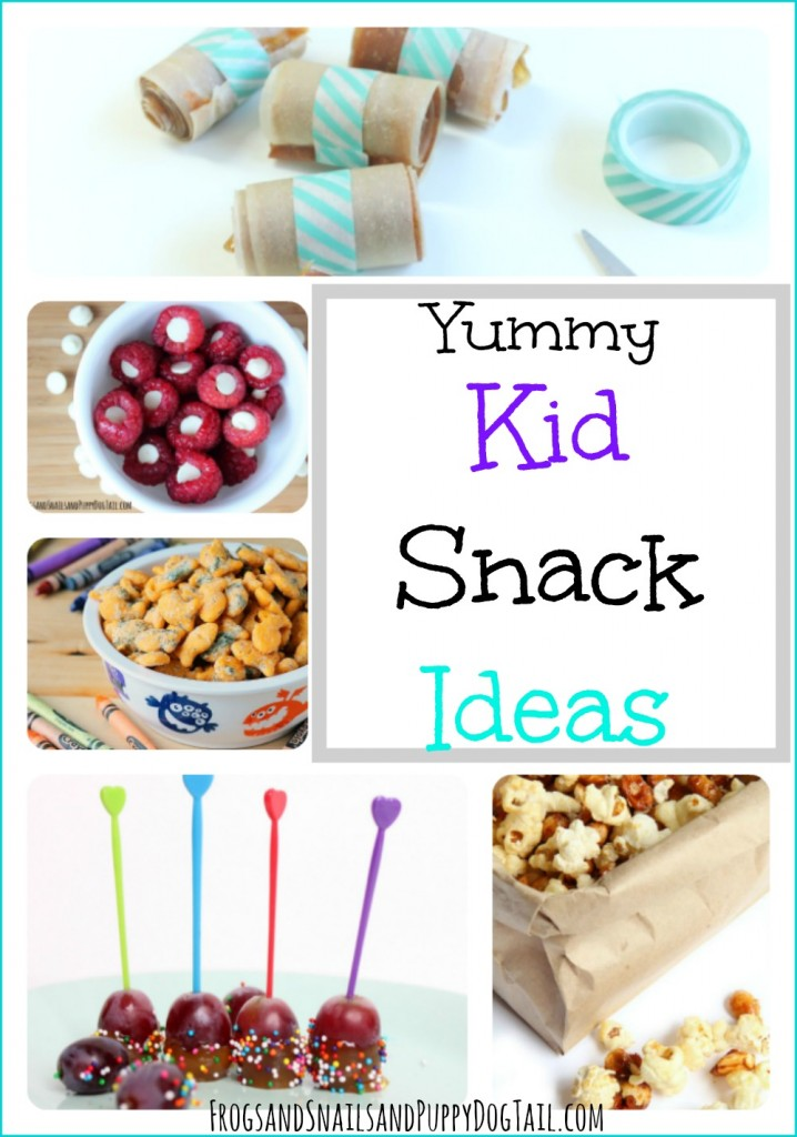 Yummy Kid Snack Ideas that are easy to make