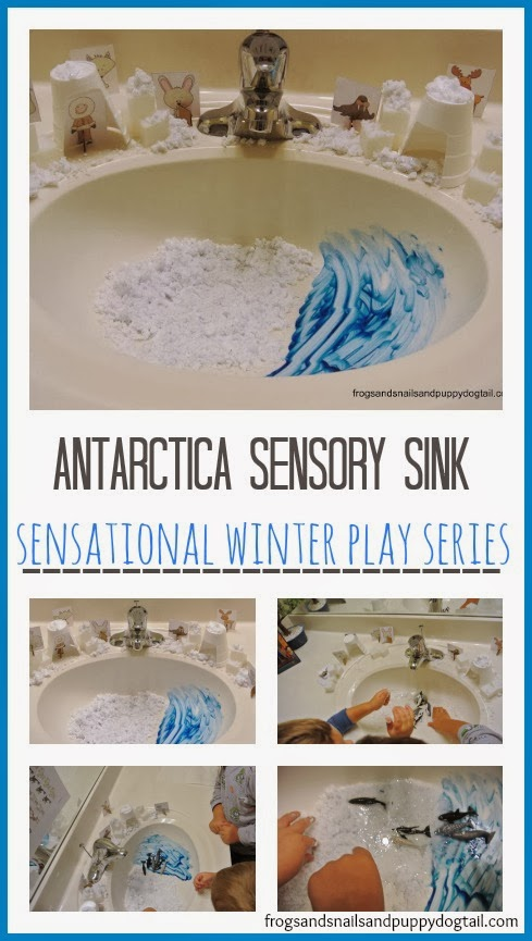 Antarctica Sensory Sink -Sensational Winter Sensory Play Series by FSPDT