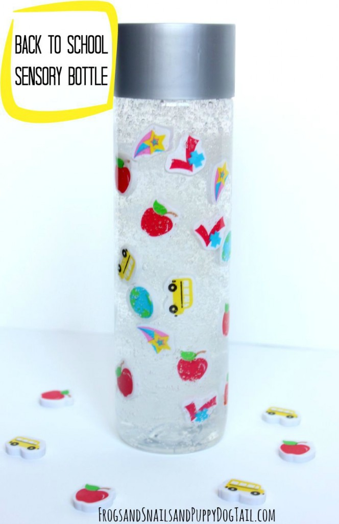back to school sensory bottle