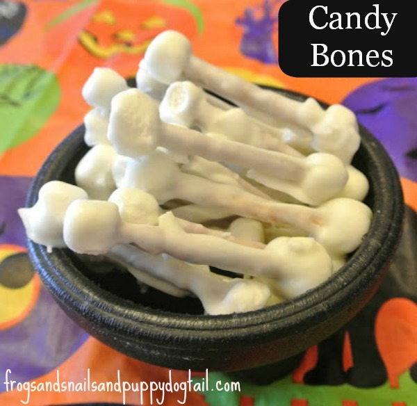 "Fun ""candy bone"" snack for kids"