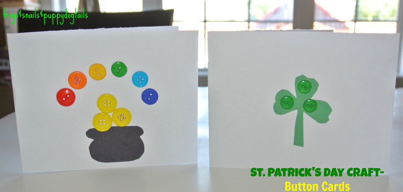 st patrick u0027s day craft button cards