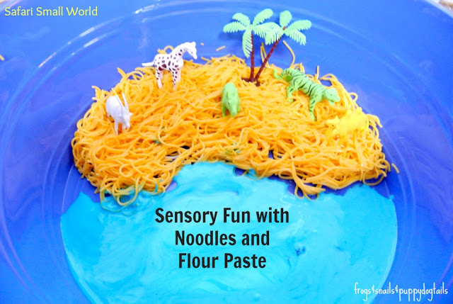 Safari Small World Sensory Play