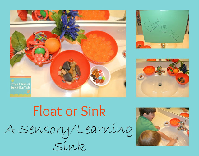 Sink Or Float Sensory Sink Learning Activity For The