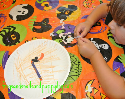 Super Easy Pumpkin Craft