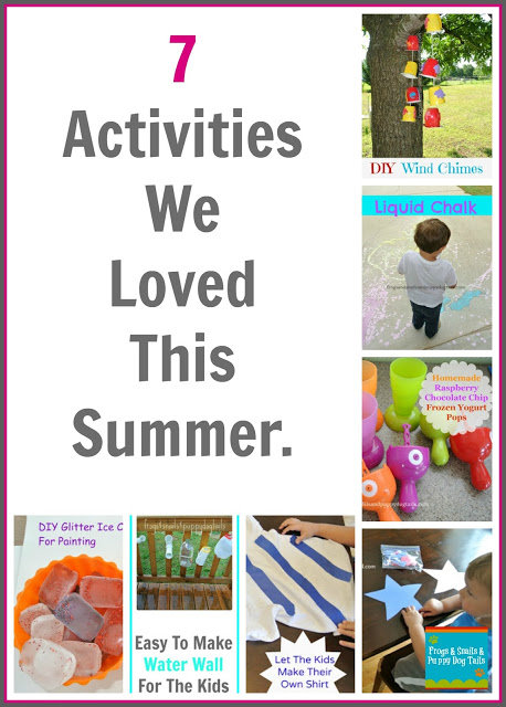 7 Activities we loved this summer