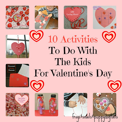 10 Activities To Do With The Kids For Valentine's Day