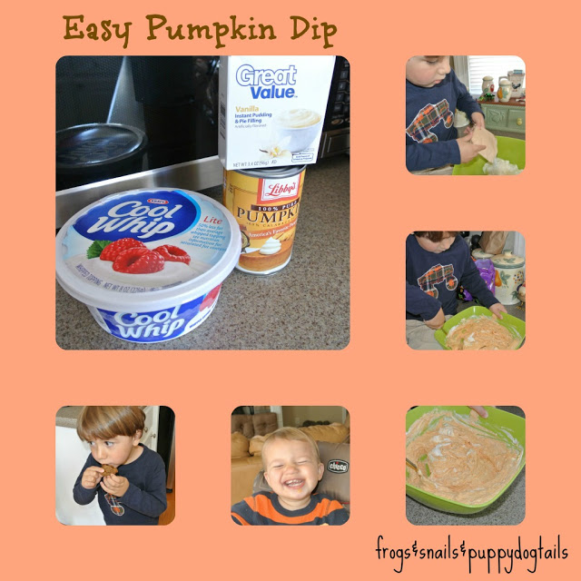 Pumpkin Dip Recipe- easy and yummy