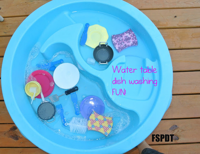 Washing Dishes Water Play for Kids