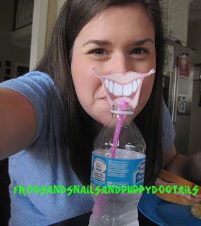 Mustache straws-just for fun